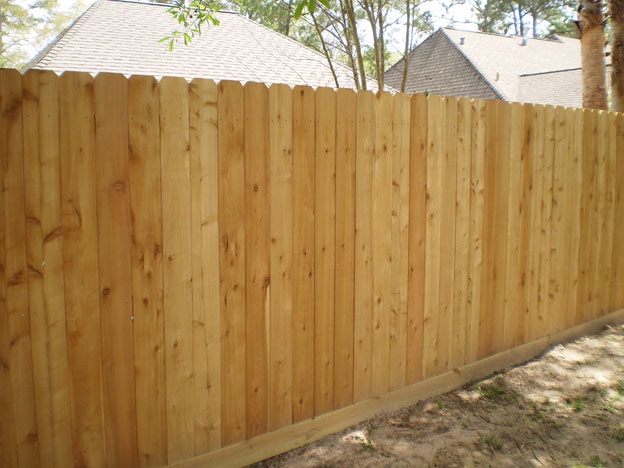 Wooden Picket Fence Aagfence